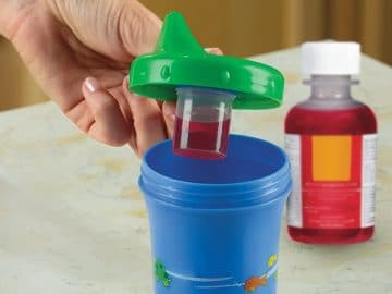 Medicine Dispensing Sippy Cup