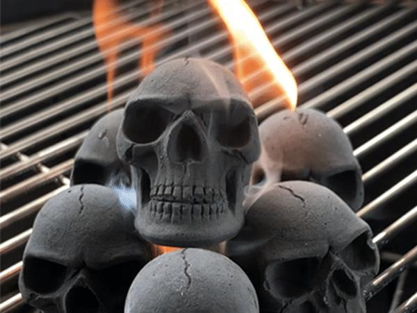 Skull Shaped Charcoal