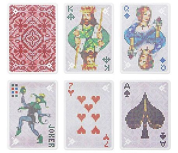 Pixel Playing Cards by Kikkerland