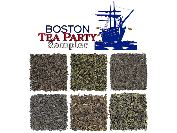 Boston Tea Party Sampler Gift for History Buffs