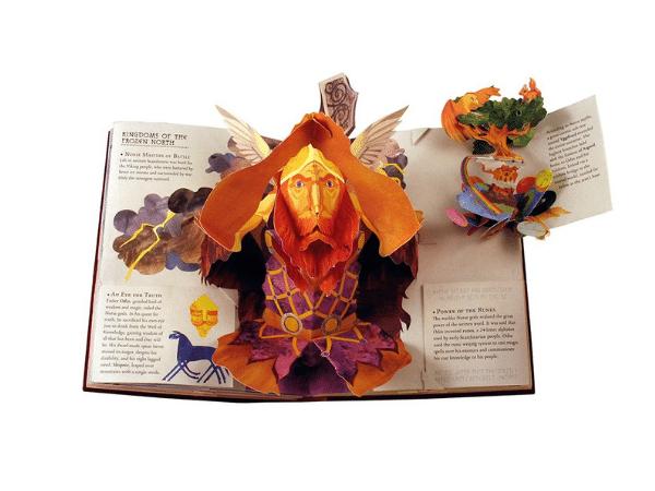 Mythological Gods Popup Book