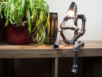 Pipe Robot Lamp 1