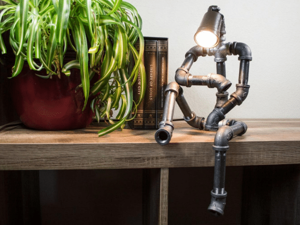 Pipe Robot Lamp 1
