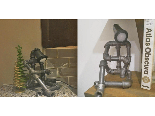 Pipe Robot Lamp 3