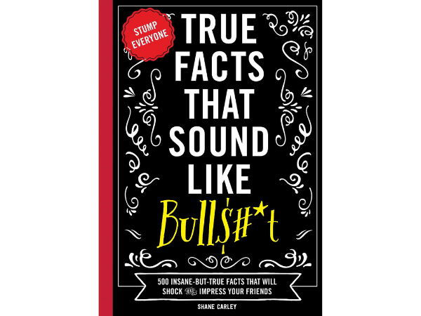 True Facts Book Cover