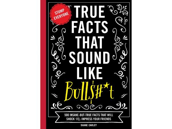 True Facts Book Cover