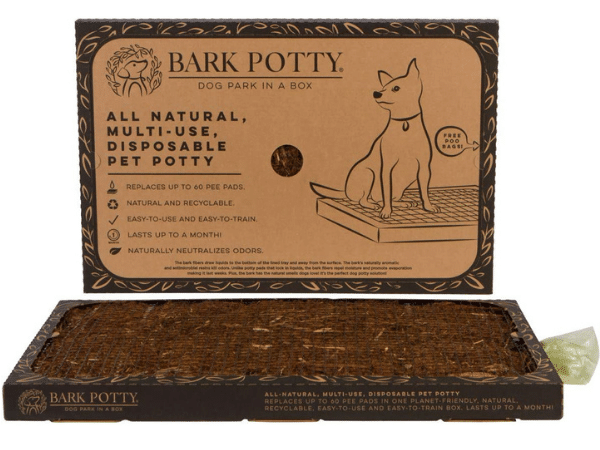 Bark Potty all natural multi-use disposable pet potty