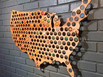 Beer Cap Map 1