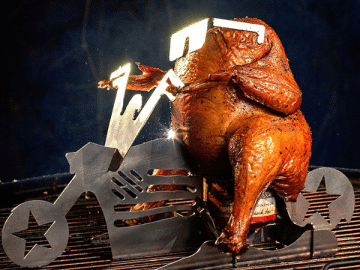 Motorcycle Beer Can Chicken Holder 1